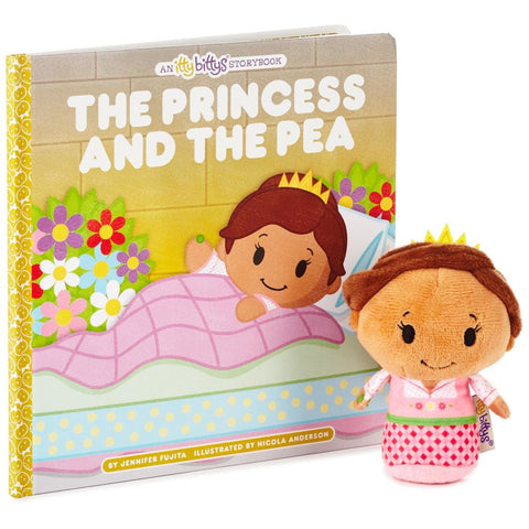 Hallmark itty bittys The Princess and the Pea Stuffed Animal and Storybook Set