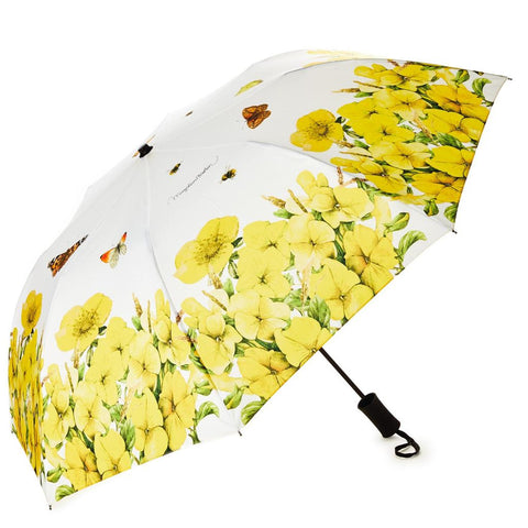 Hallmark Marjolein Bastin Yellow Pansies and Primroses Umbrella