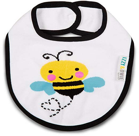 Pavilion 79279 Yellow and Black Bee Baby Bib
