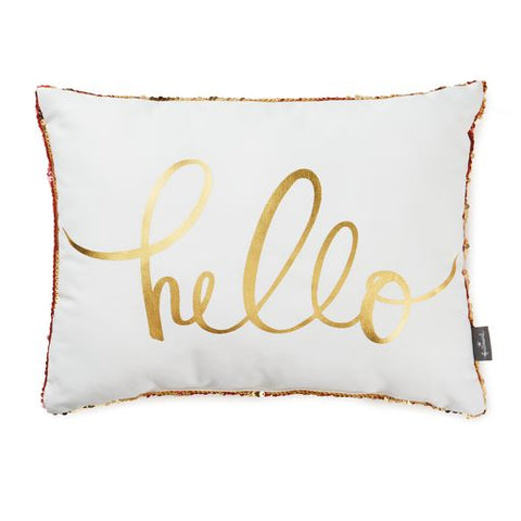 Hallmark Sequined Pillow
