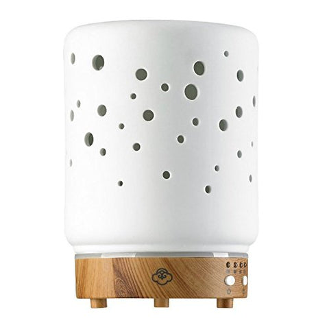 Serene House 161201015 Aromatherapy Diffuser with Ceramic Cover - Scentilizer - Starlight