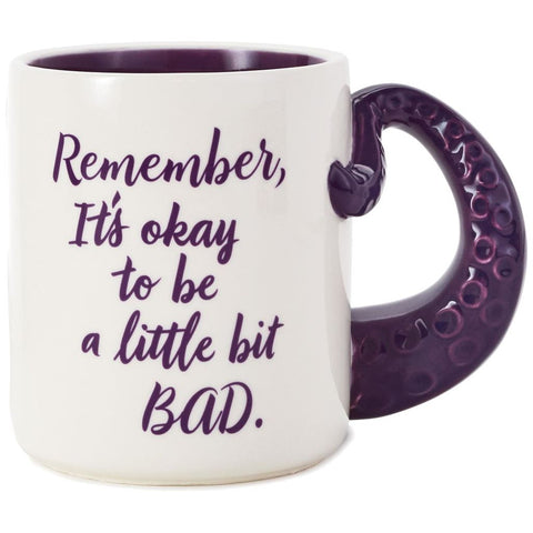 Hallmark Disney The Little Mermaid Ursula A Little Bad Coffee Mug