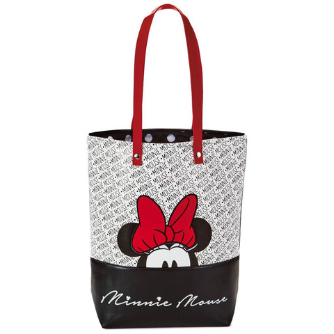 Hallmark Disney Minnie Mouse Faux Leather Tote Bag