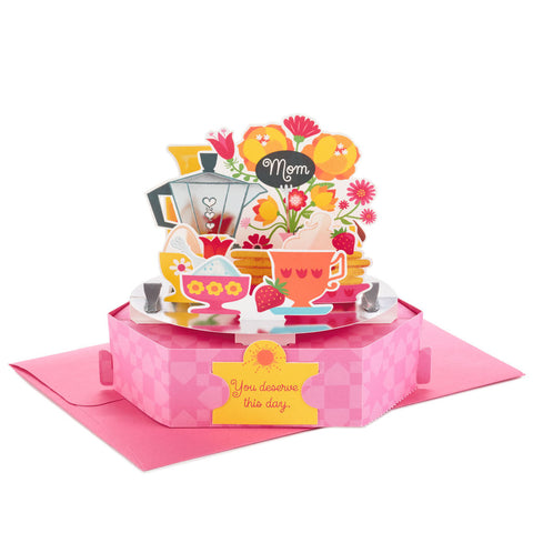 Hallmark Breakfast in Bed Pop Up Mother's Day Card