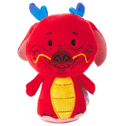 Hallmark Limited Edition itty bittys Mushu the Dragon