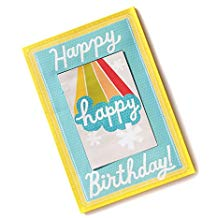 Hallmark Extra Large Greeting Card Happy Happy Birthday!
