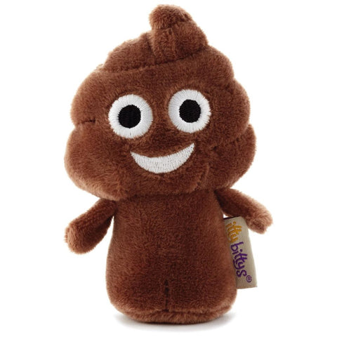 Hallmark itty bittys Poopy Emotibitty Stuffed Animal
