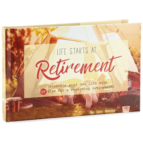 Hallmark 1BOK1535 Life Starts at Retirement Book