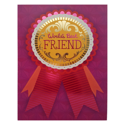 Hallmark Extra Large Greeting Card World's Best Friend
