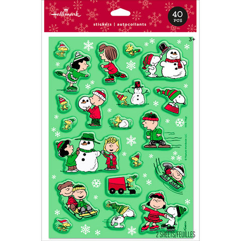 HMK CHR - Peanuts Winter Stickers
