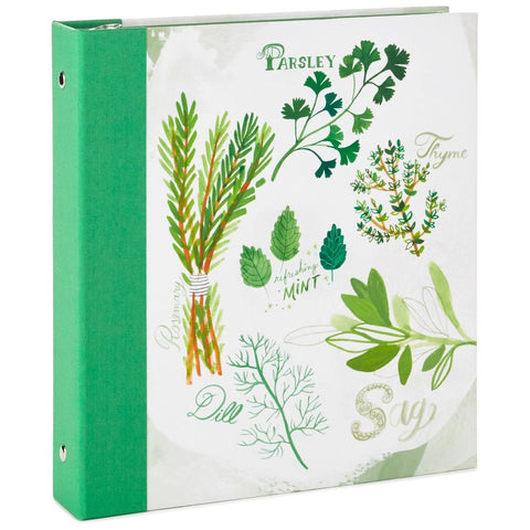 Hallmark Herbs and Spices Recipe Binder