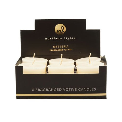 Northern Lights Candles Esque Mysteria 6 Piece Votives Box