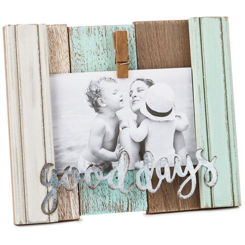 Hallmark Good Days Rustic Wood Picture Frame With Clip