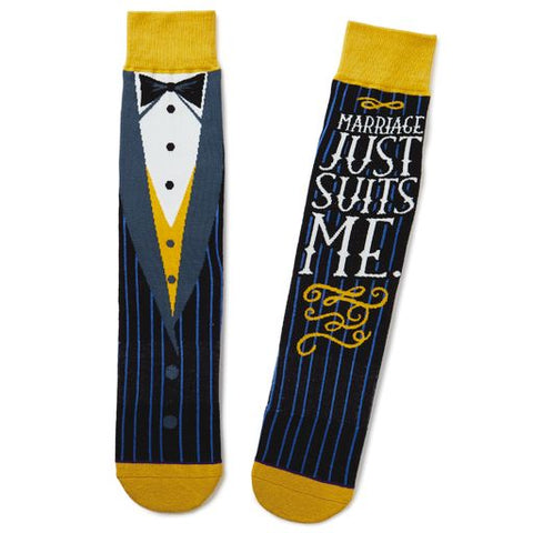 Hallmark 1SOX2101 Groom Socks
