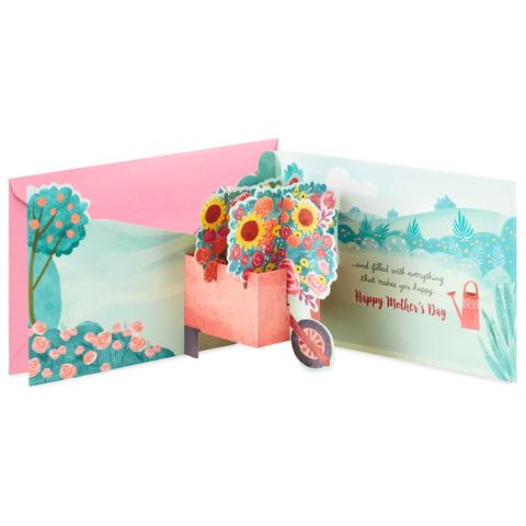 Hallmark Love and Happiness Pop Up Mother's Day Card