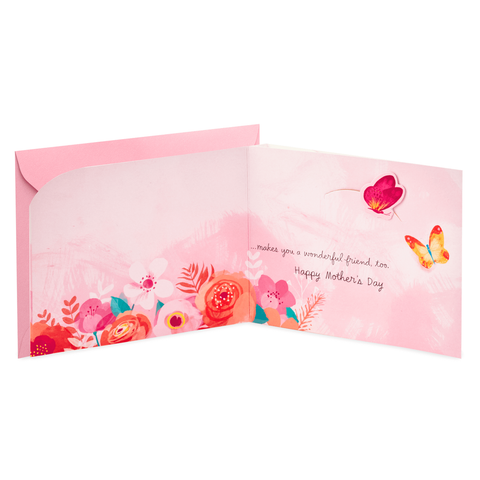 Hallmark You're a Wonderful Person and Friend Mother's Day Card