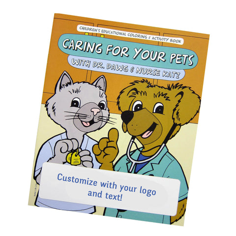 Coloring Book - Caring for Your Pets