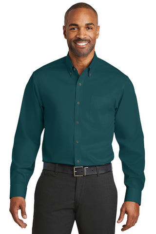 Red House® Non-Iron Twill Dress Shirt - Mens