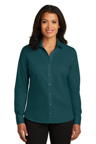 Red House® Non-Iron Twill Dress Shirt - Ladies