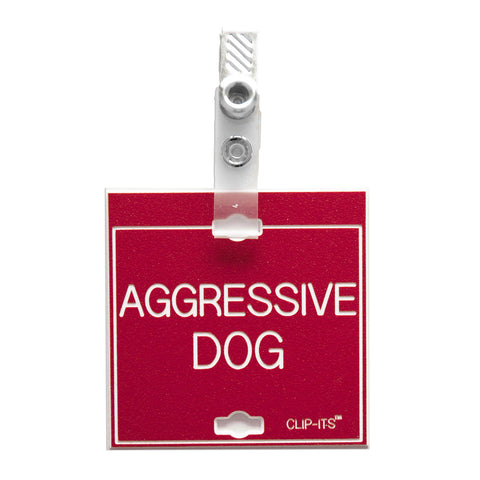 Aggressive Dog Clip-Its™ (pack of 6)