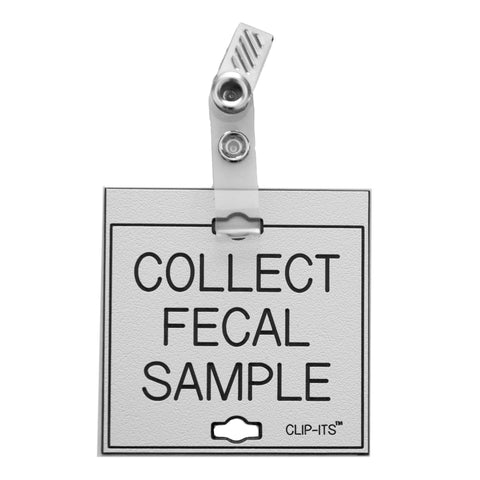 Collect Fecal Sample Clip-Its™ (pack of 6)