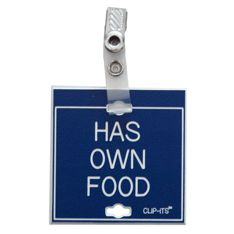 Has Own Food Clip-Its™ (pack of 6)