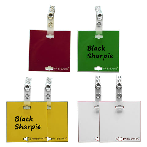 Variety Pack - Write-Boards™ - Small (pack of 6)