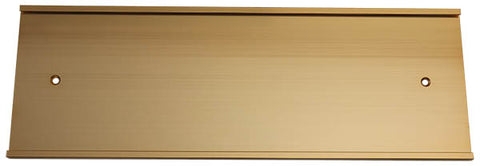 12x4 Write-Boards™ Brass Plate Slide Holder