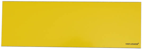 12x4 Write-Boards™ Yellow Plate Magnetic Back