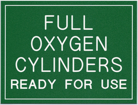 FULL OXYGEN CYLINDERS...