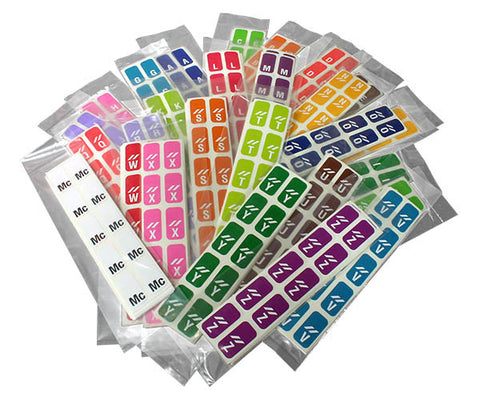 ProFiles™ Alpha Labels 1/2""