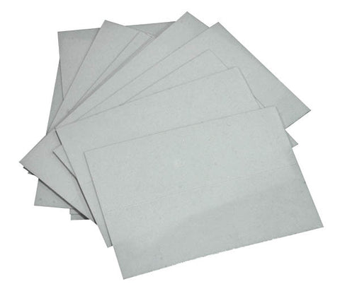 Name Label Protectors - Mylar 2 5/8""