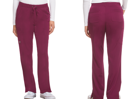 Healing Hands Works Drawstring Scrub Pant-Ladies