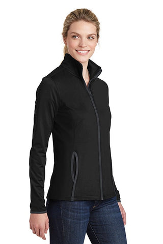 Soft Brushed Zip Jacket - Ladies