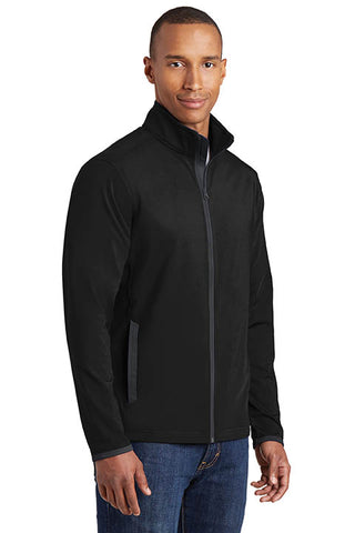 Soft Brushed Zip Jacket - Mens