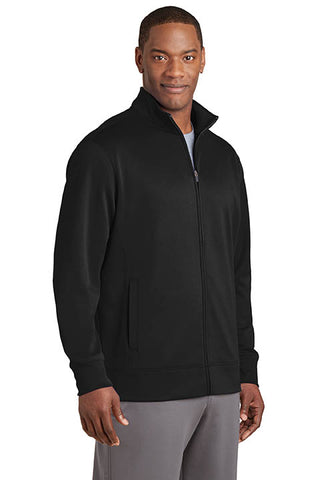 Sport-Wick Fleece Jacket, Full Zip - Mens