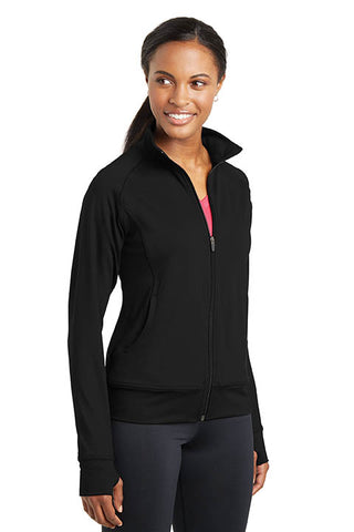 Comfort Work & Workout Jacket, Full Zip - Ladies