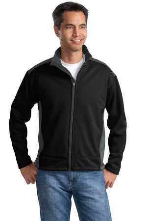 Two-Tone Softshell Jacket - Mens