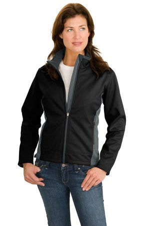Two-Tone Softshell Jacket - Ladies