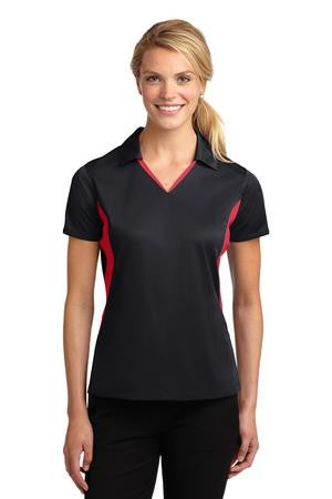 Color Block Wicking Polo - Ladies