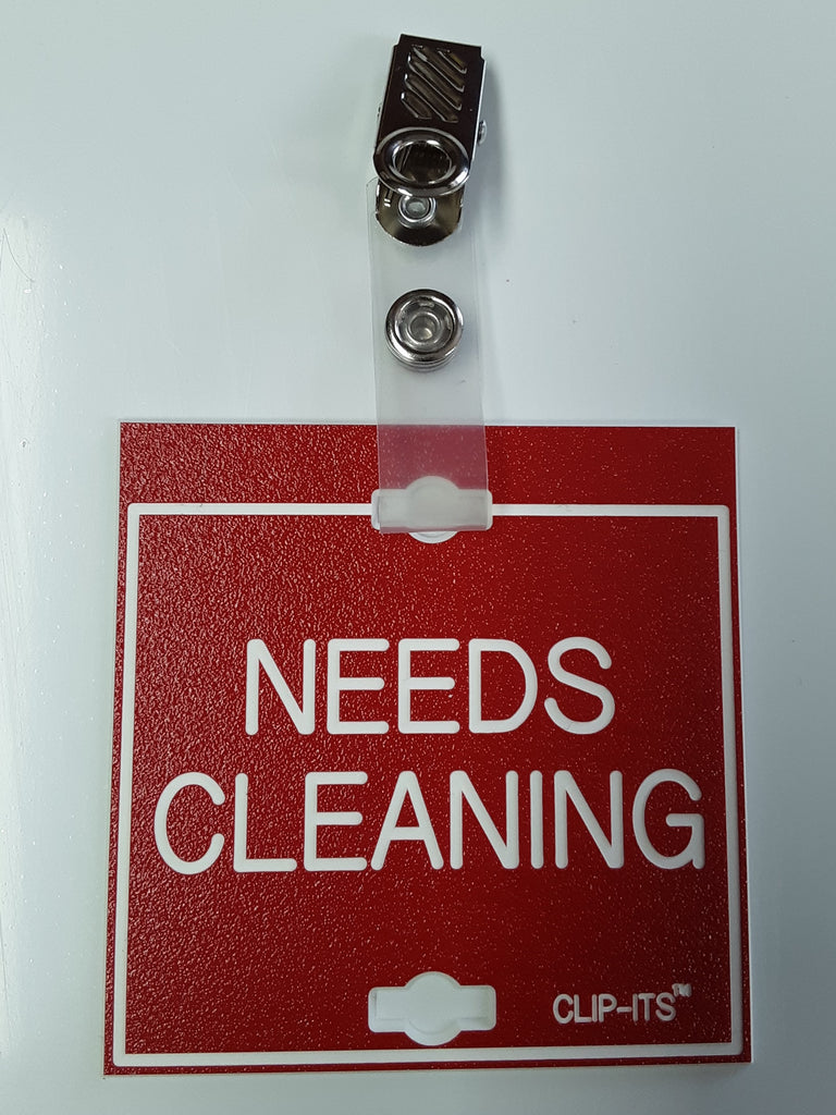 NEEDS CLEANING Clip-Its™ (pack of 6)