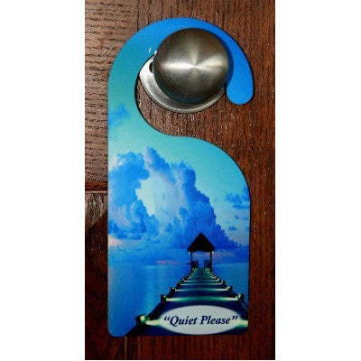 """Quiet Moments At The Beach"" Door Hanger"