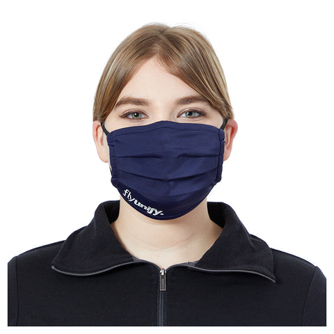 U-Pleated Eco Mask (Knit, Light) (Imprinted)