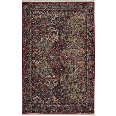 Original Karastan Multi Panel Kirman Rug - Karastan