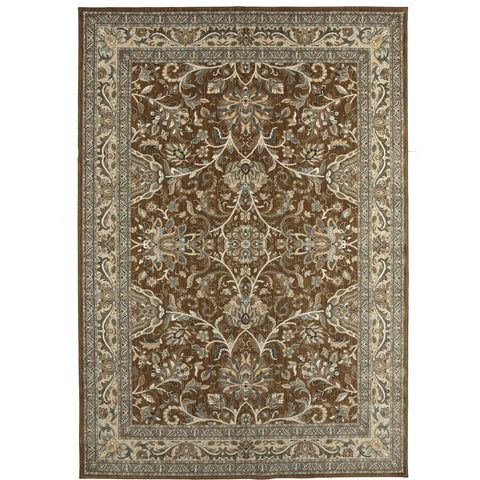 Euphoria Newbridge Brown Rug - Karastan