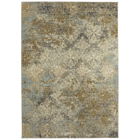Touchstone Moy Willow Grey Rug - Karastan