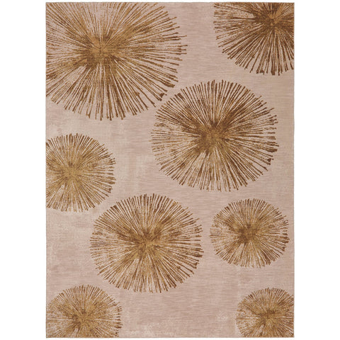 Cosmopolitan Haight Brushed Gold Rug - Karastan