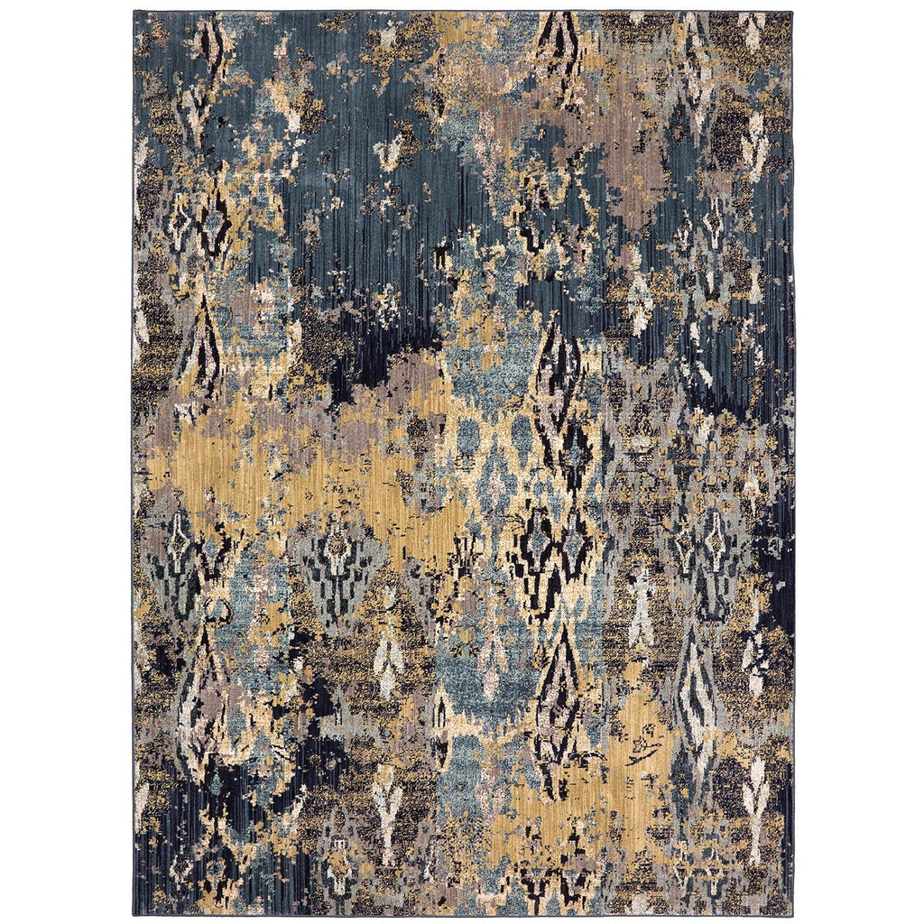 Elements Captivate Indigo Rug - Karastan
