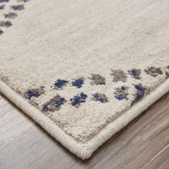 Cosmopolitan French Affair Ink Blue Rug - Karastan