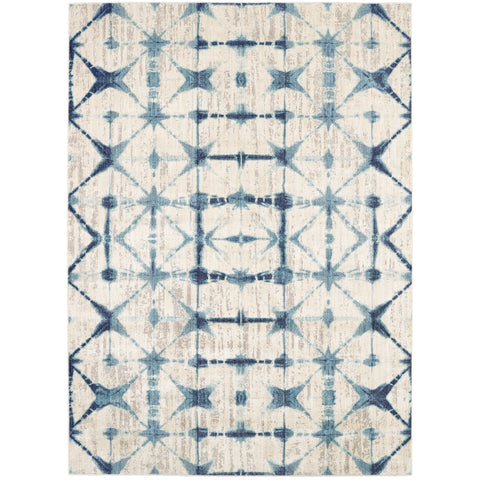 Expressions Triangle Accordion Beige Rug - Karastan
